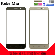 цена на Keke Mia 5.2 For Gome S1 Touch Lens Replacement Front Glass outer Lens Cover Screen Protector For Gome T1 Phone Touch Lens
