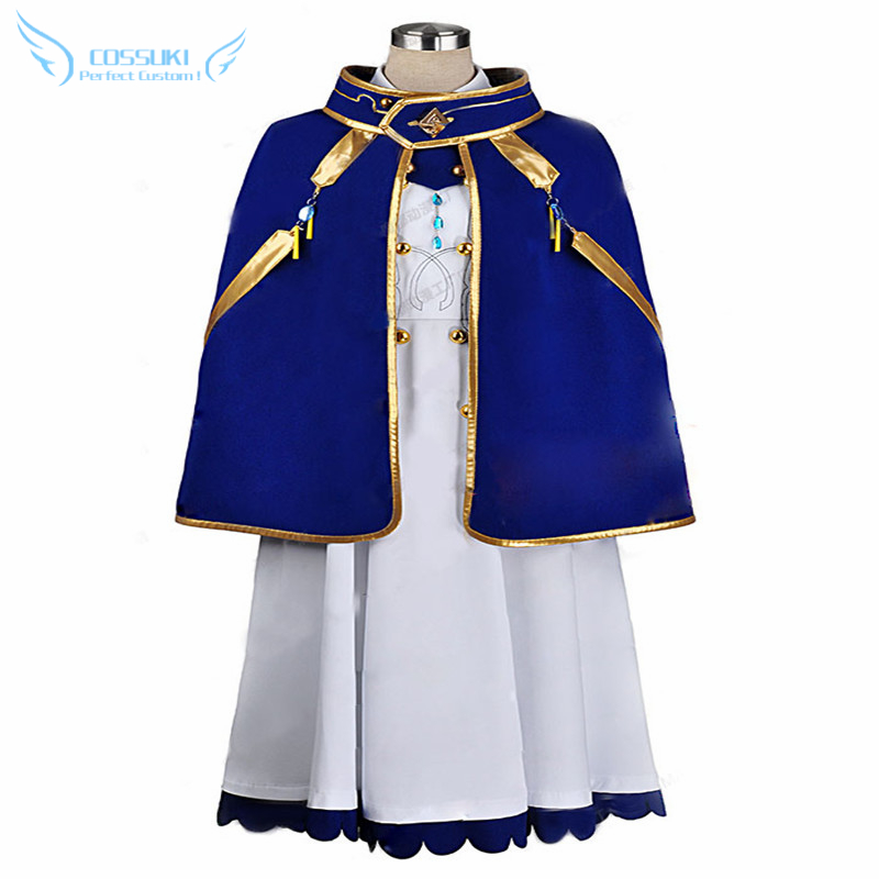 Snow White With The Red Hair Akagami No Shirayuki-hime Shirayuki Cosplay Costume , Perfect Custom For You !