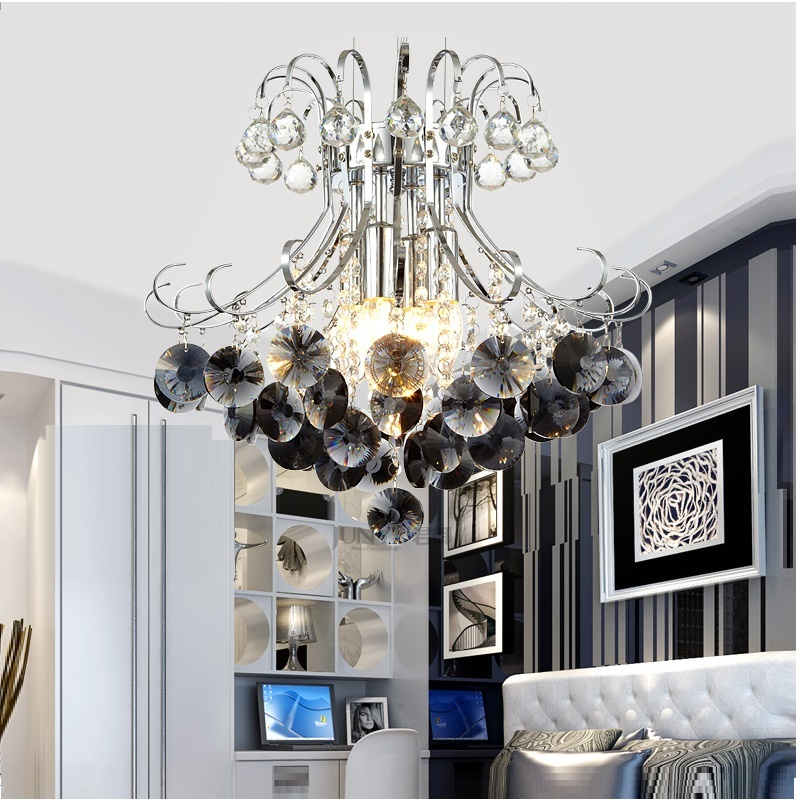 Luxury Crystal Chandelier Living Room Lampu lustres de cristal Indoor Lights Crystal Pendants For Candelier Crystal Light
