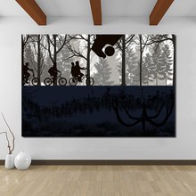 Stranger Things Season 2 Upside Down Black White Artwork Art Canvas Poster Painting Oil Wall Picture Print Home Bedroom Decor HD