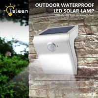 TSLEEN Solar Power Outdoor Garden Light Black White Silver Golden Shell Solar LED Lamp Dimmable PIR