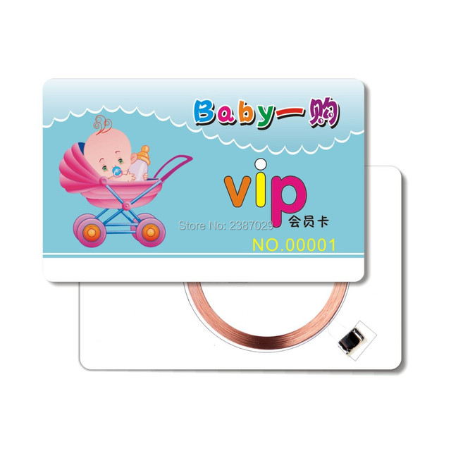 ISO Printable Plastic EM4305 Chip Door Access Lf Rfid Card 125khz Proximity Passive Writable Tags