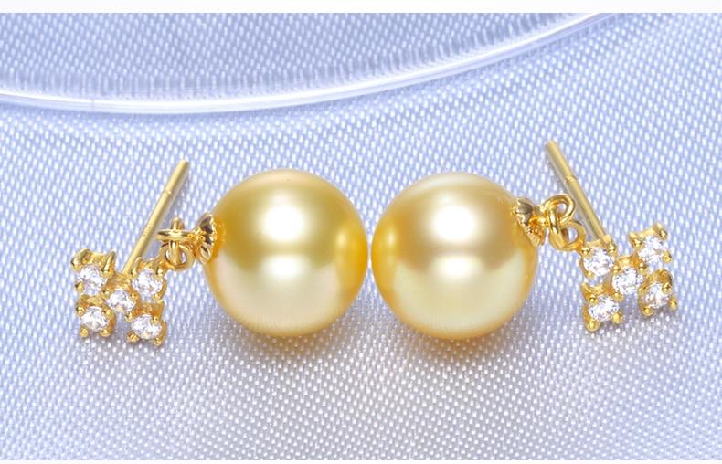 gold pearl earrings jewelry 77