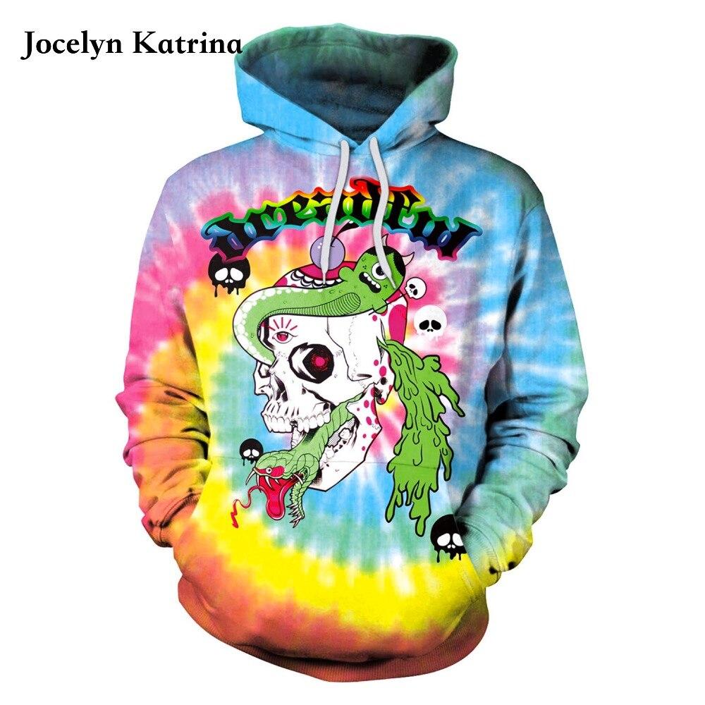 Jocelyn Katrina Halloween Hoodies Mantel Mit Kapuze Skateboard Sweatshirt Winter Übergroße Jacke Frauen Trainingsanzug Schmerzen Haben