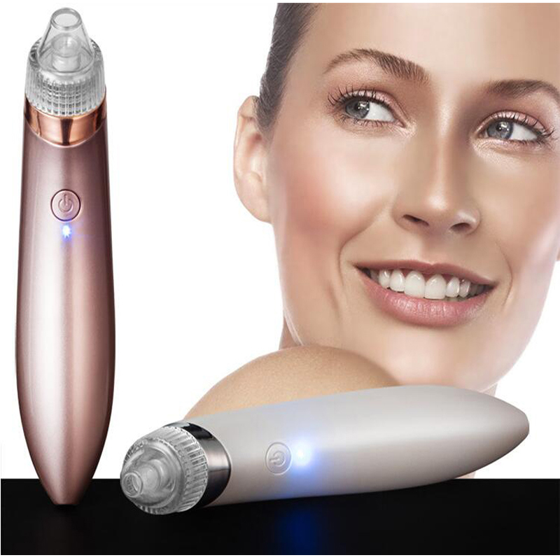Diamond Dermabrasion Facial Pore Peeling Vacuum Suction Blackhead Cleaner Acne Remover Extractor Skin Pores Cleansing Machine