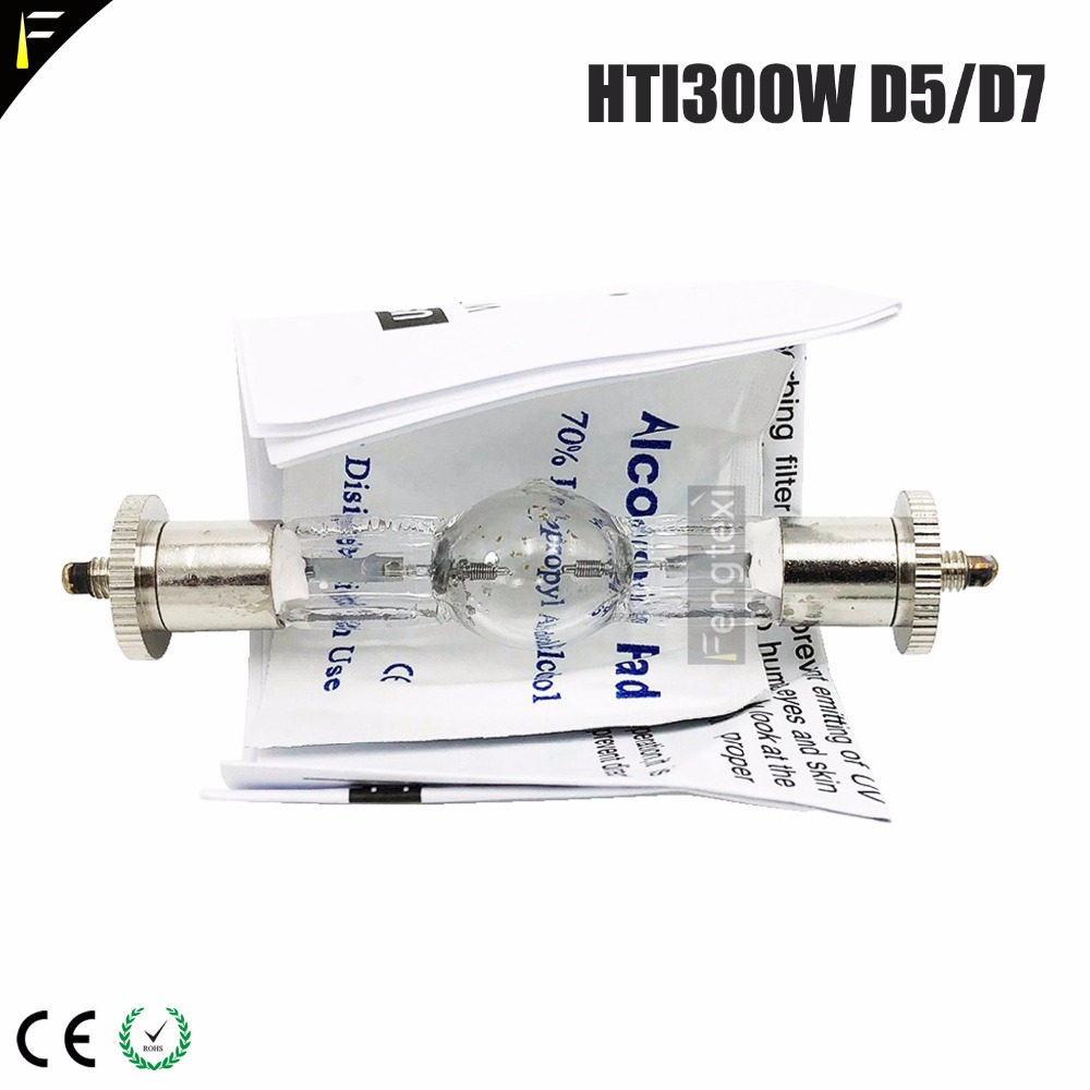 Compatible HTI 300 /MHK 300w /D3/75/ HMI300 Replacement for osram HTI 300w Lamp for Stage Moving Head Light BulbCompatible HTI 300 /MHK 300w /D3/75/ HMI300 Replacement for osram HTI 300w Lamp for Stage Moving Head Light Bulb