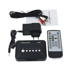 720p SD Media Center RM/RMVB/AVI/MPEG HDD TV Player with USB and SD/MMC Port