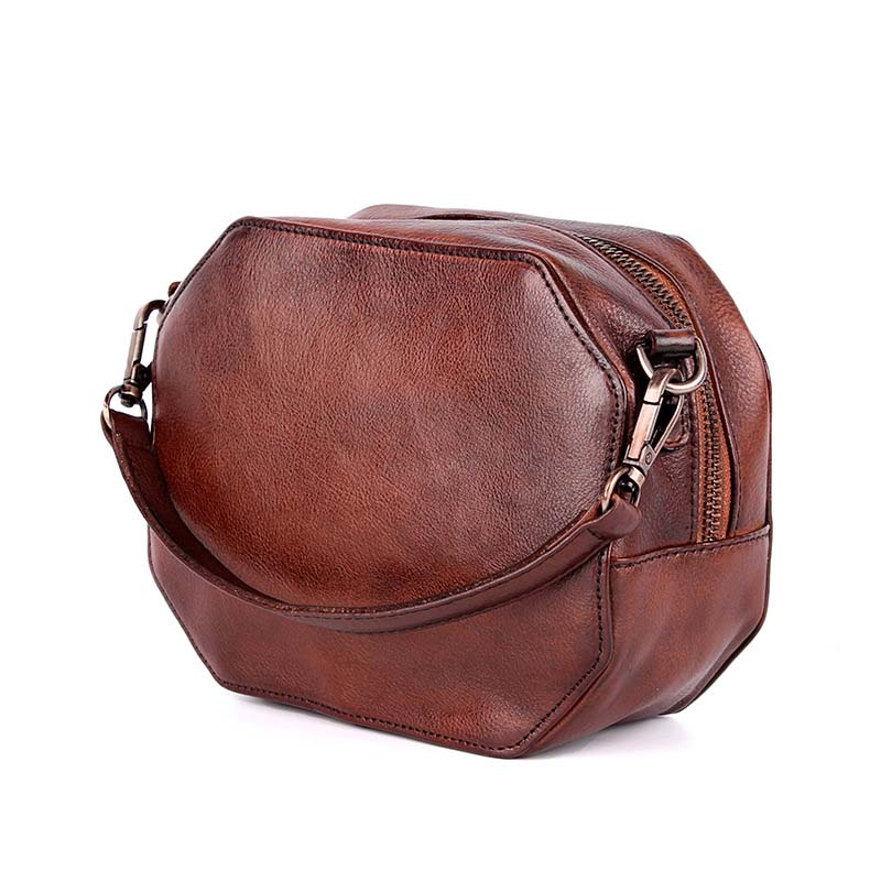 AETOO 2018 New Retro leisure first layer cowhide leather small square bag Tanned Leather Bag Satchel Handbag aetoo spring and summer new leather handmade handmade first layer of planted tanned leather retro bag backpack bag