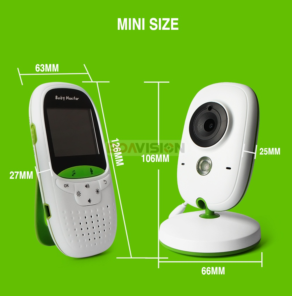 09 2.0 Inch Baby Monitor