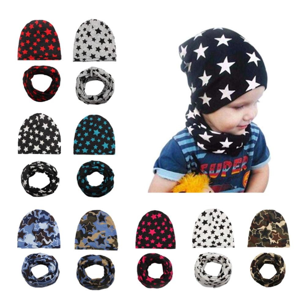 Hot Sale Baby Accessories Cotton Autumn Winter Warm Scarf Beanie Baby Hat Newborn Photography Props Fotografia Cap Kid