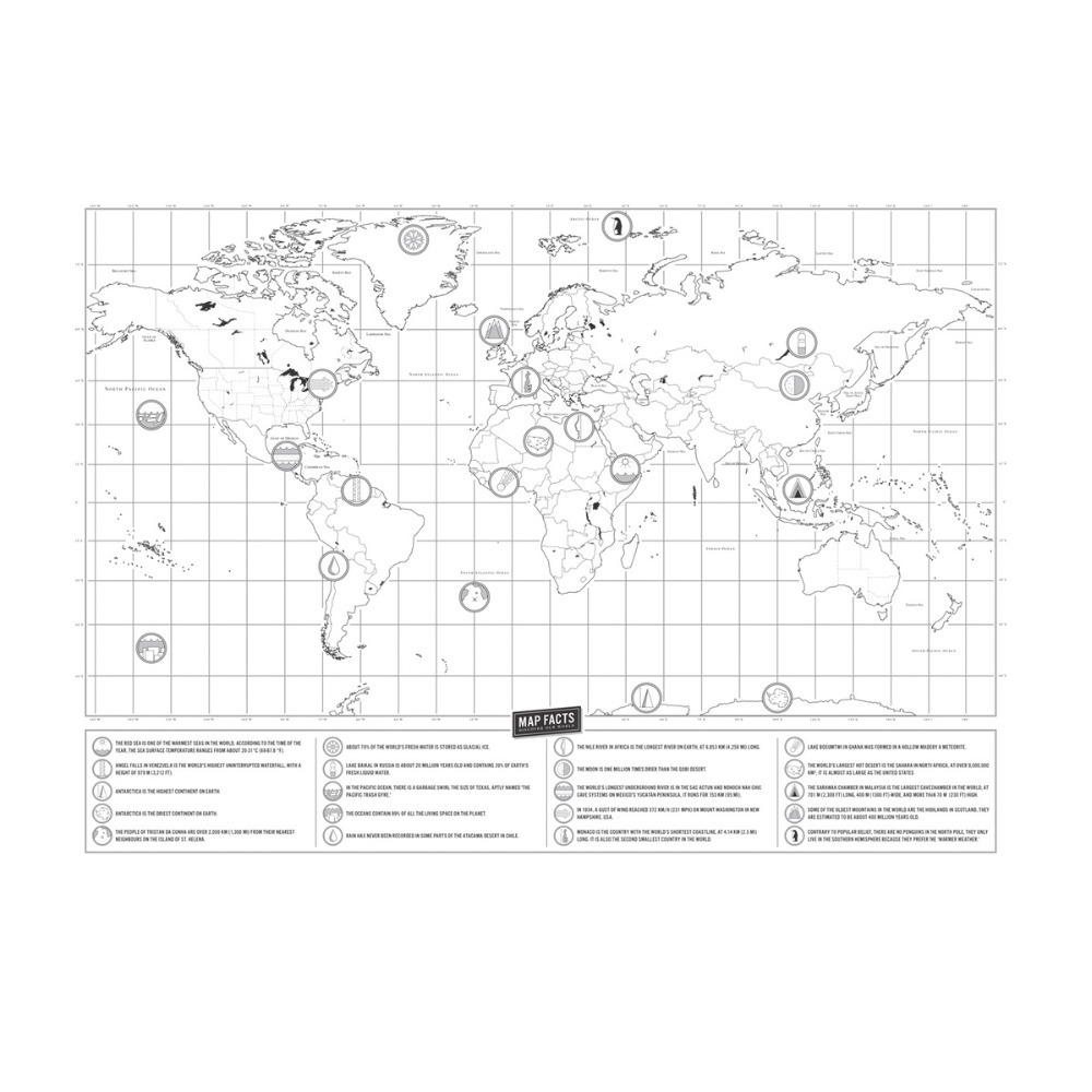 1 pc travel map deluxe edition scratch map with scratch off layer 1 pc travel map deluxe edition scratch map with scratch off layer visual travel journal world map for educatioin 4230cm in wall stickers from home gumiabroncs Images