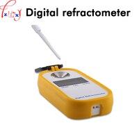 Портативный цифровой сахариметр DR102 Портативный Цифровой рефрактометр для сахара 0 90% показатель преломления 1 шт.