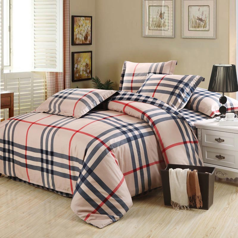 Brand Bedding Sets 4pcs Linens Adult Queen King Size Bedding Sheet Set  Luxury Bedding Sets Designer Bed Duvet Cover Bedspreads In Bedding Sets  From Home ...