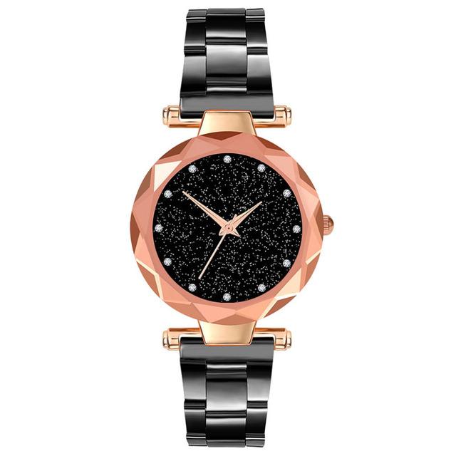 Duobla Crystal Womens Watches Luxury Dress Brand Women Elegant Quartz Wristwatch Mujer Pu Leather Watch Feminino Montre 2019 30Q