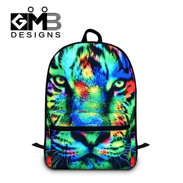 Camouflage Tiger 3D Printing School Backpacks for high class students mens  cool travling bag boys stylish 4b52c048f5084