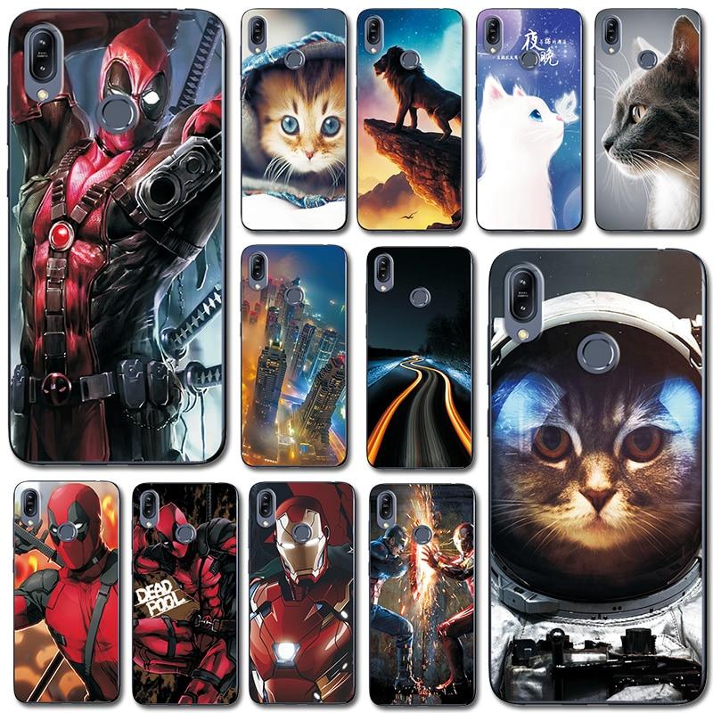 For Asus Zenfone Max M2 ZB633KL Phone Bags Iron Man Case Cover Fantasy Brilliant For Zenfone Max M2 ZB633KL 6.3'' Fundas Case