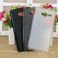 Para zte blade l3 case brilhante ultra-fino claro tpu silicone macio voltar capa protetora casos de telefone para zte blade l3 smartphones