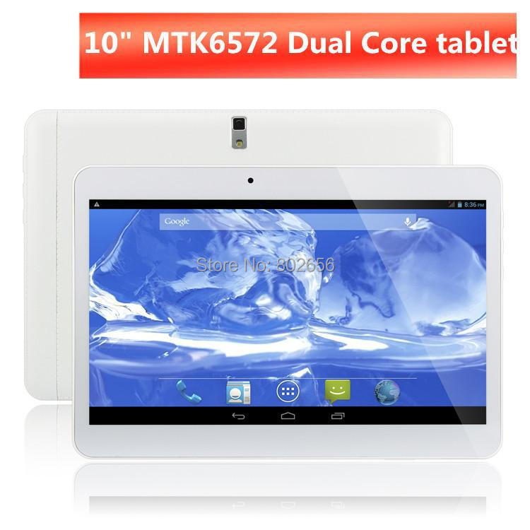 Tablet pc Big discount!10 inch MTK6572 3G Phone Call dual core/camera/SIM card GPS+Flashlight+Bluetooth Android4.4 free shipping