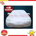 2016 HOT SELLING HIGH QUALITY UNIVERSAL Anti UV RAIN Styling Sunshade Heat Protection Dustproof OUTDOOR FULL CAR COVER