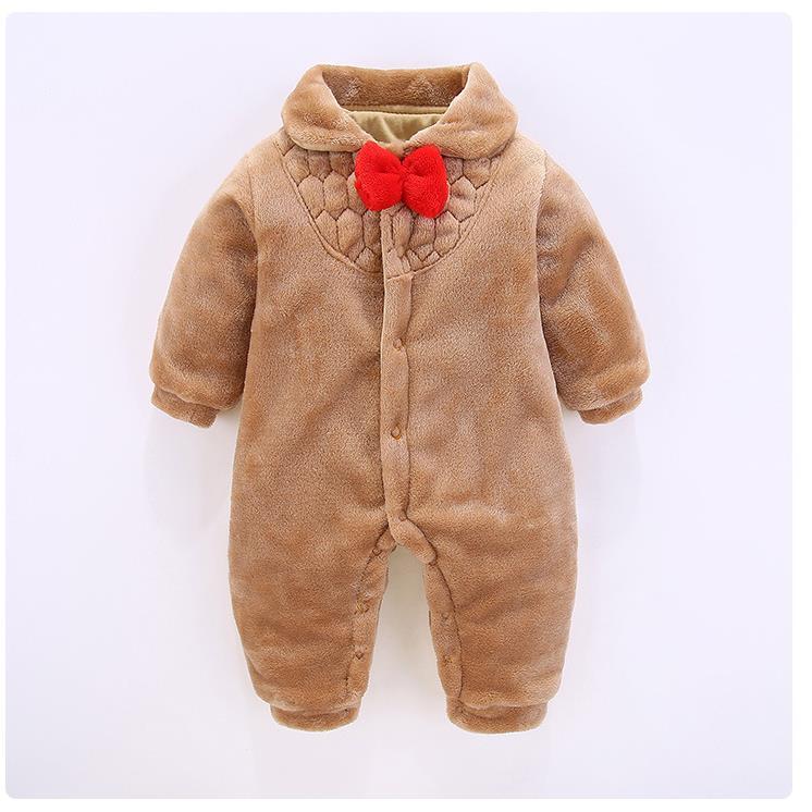 Kinder Cartoon Stil Warme Baumwolle Kleidung GläNzend