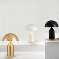 Италия Дизайн oluce Медь/золото/черный/белый настольные лампы, светильники Настольные лампы для Гостиная Спальня Лофт гостей отеля проект ком