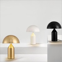 Italy Design Oluce Copper/Gold/Black/White Table Lamp Lights Desk Lamps for Living Room Bedroom Loft Hotel Guest Room Project