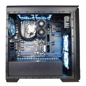 Image 5 - ALSEYE Кулер для ОПЕРАТИВной памяти вентилятор для компьютера DDR памяти двойной 60 мм вентилятор PWM 1500 4000RPM кулер для DDR2/3/4