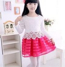 Girls Kids Pageant Princess Tutu Crochet Dress Party Wedding Tulle Dress 3-8Year