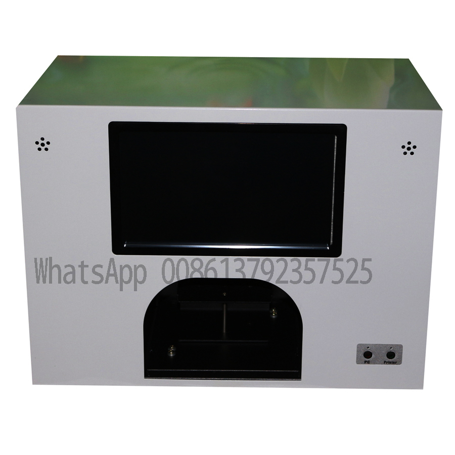 only model 3 flowers printing machine digital nail and flower printer 3 roses printing a time