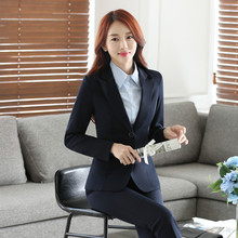 IZICFLY New Office Ladies Uniform business womens suits set