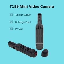 Full HD 1080 P мини Камера t189 ручка Камера голос Регистраторы цифрового видео Камера Регистраторы Портативные телевизоры out мини-видеокамеры