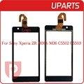 """Высокое Качество 4.6 """"для Sony Xperia ZR M36H C5503 C5502 Сенсорным Экраном Дигитайзер Сенсорная Панель Переднее Стекло Объектива + Отслеживания код"""
