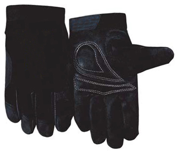 Leather Driver Gloves Grain Pig Mechanics Work Glove
