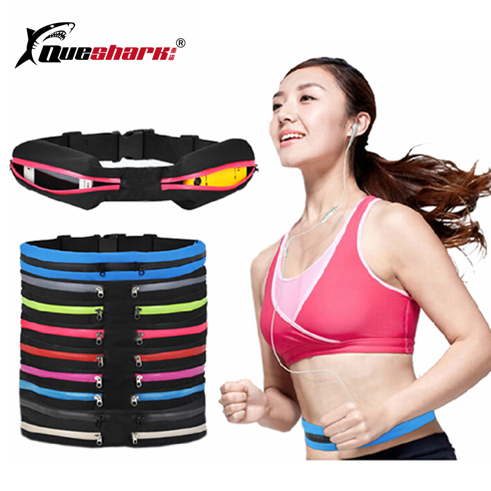 Ultralight Sports Running Bags Jogging Waist Bag Waterproof Walking Climbing Camping Phone Bag Anti-theft Belt Packs