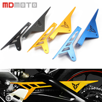 accessories Motorcycle Chain Guard For YAMAHA MT 09 FZ 09 2014 2016 FJ 09 MT09 Tracer CNC Aluminum Chain Guards Cover Protector