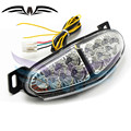 new listing clear lens motorcycle turn signal Integrated LED Tail Light for kawasaki ninjia 650 er6 2009 2010 2011