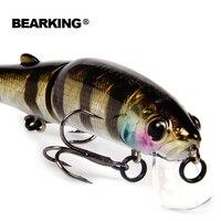 Retail 2016 Good Fishing Lures Minnow Quality Professional Baits 11 3cm 13 7g Bearking