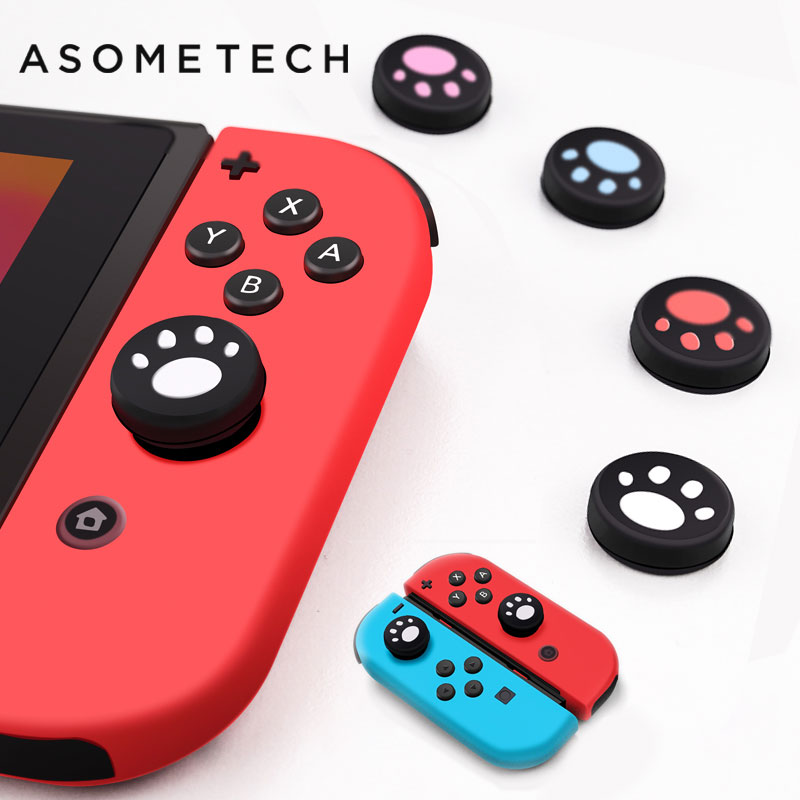 2PC Silicone Joystick Thumbstick Grip Cap Case For SONY Nintend Switch PS4 Controller Buttons Playstation 4 PS3 Xbox one Gamepad2PC Silicone Joystick Thumbstick Grip Cap Case For SONY Nintend Switch PS4 Controller Buttons Playstation 4 PS3 Xbox one Gamepad
