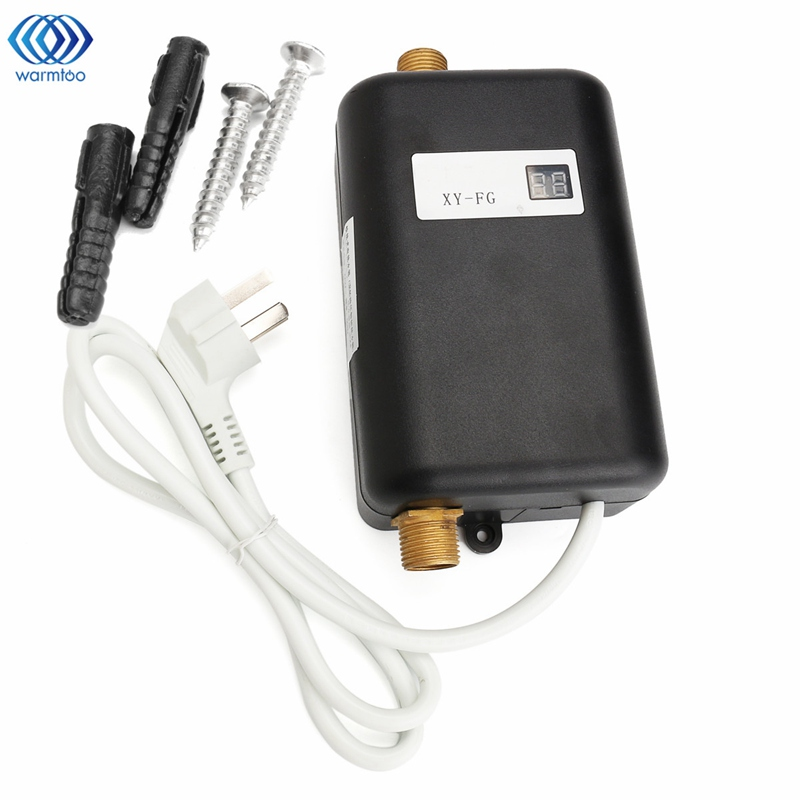 3800w mini instant heating water heater tankless electric for 4 bathroom tankless water heater