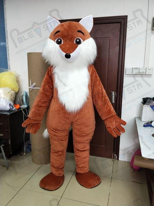 Forêt animaux mascotte costume renard marche acteur renard mascotte costumes