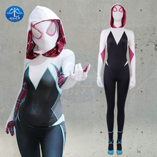 MANLUYUNXIAO Spider Man  Into The Verse Halloween Costumes for Men Adult My Hero Academia Cosplay Costume Women