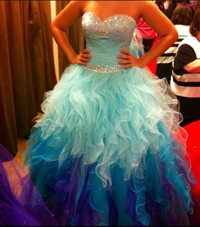 Actual Image Sweet 16 Quinceanera 2019 Sweetheart Organza Party Prom Debutante Gowns Custom Make Free Shipping bridesmaid dress