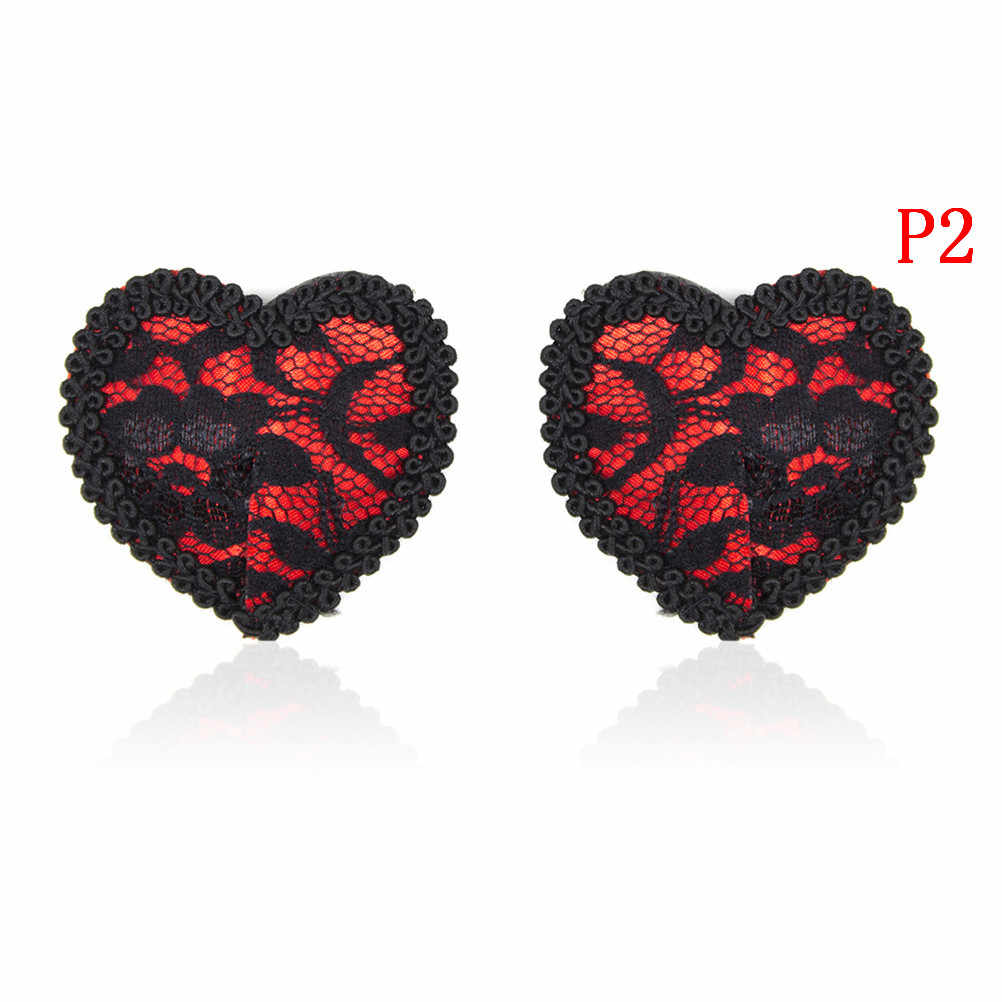 eb31921f5 ... heart Round Lace shape nipple stickers sex product sexy sequin nipple  covers with tassels pasties wholesale ...