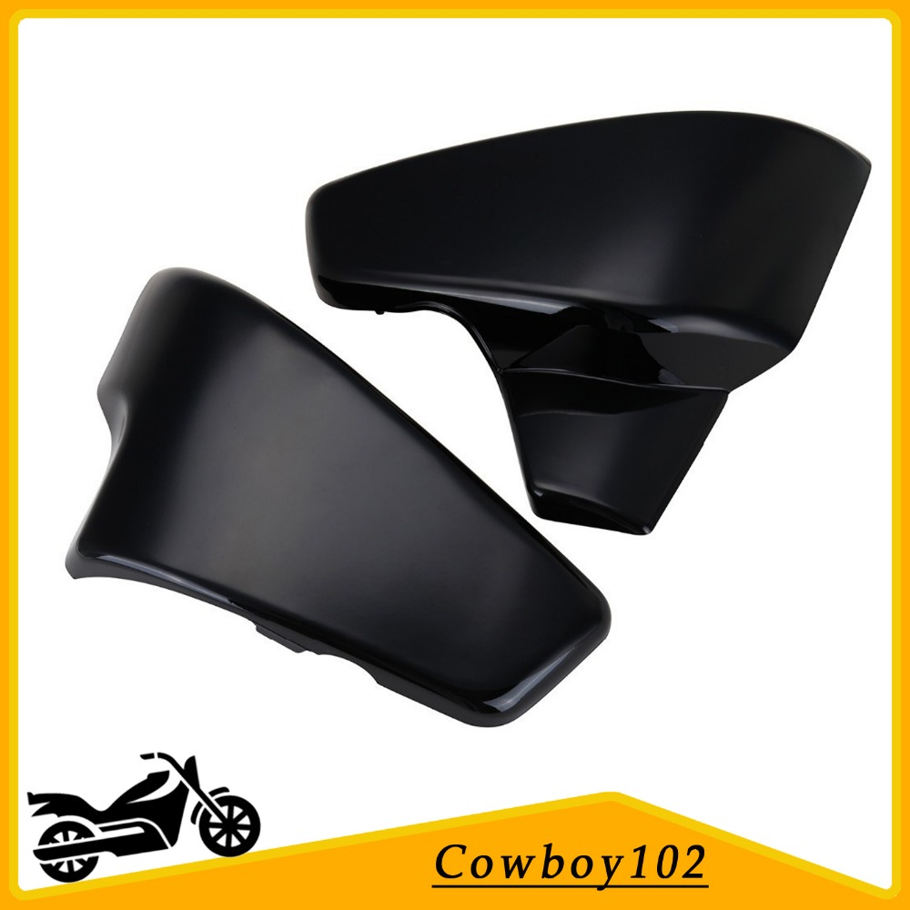 Motorcycle Battery Side Cover For Honda VT 600 Shadow VLX Deluxe 2007 ,Steed 400 / 600 1988 1990 1997 Steed 400VLS 1998 for 88 98 honda shadow vt600 vlx 600 steed 400 motorcycle abs plastic frame neck cover cowl wire covers side frame guard black