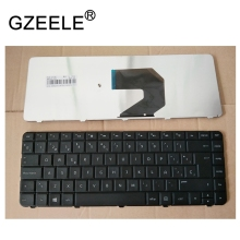 GZEELE Spanish SP Teclado keyboard for HP G6-1107TX G6-1106TX 646125-071 9Z.N6WSF.10S black