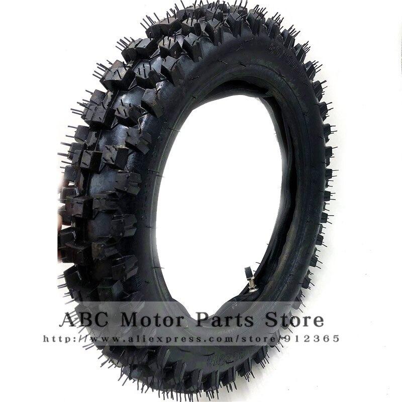 3.00-12 80//100-12 Inner Tube Rear Valve Stem for PIT PRO Trail Dirt Bike Motor