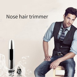 Men Nose Hair Trimmer Electric Male Shaving Nose Hair Ear Nose Hair Shaver Clipper Face Neat Clean Removal Personal Care