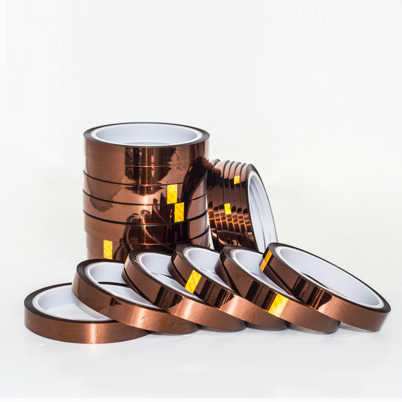 Hot Sale 40mm x 30m Adhesive Tape High Temperature Heat Resistant Polyimide tape 260 300 Degree