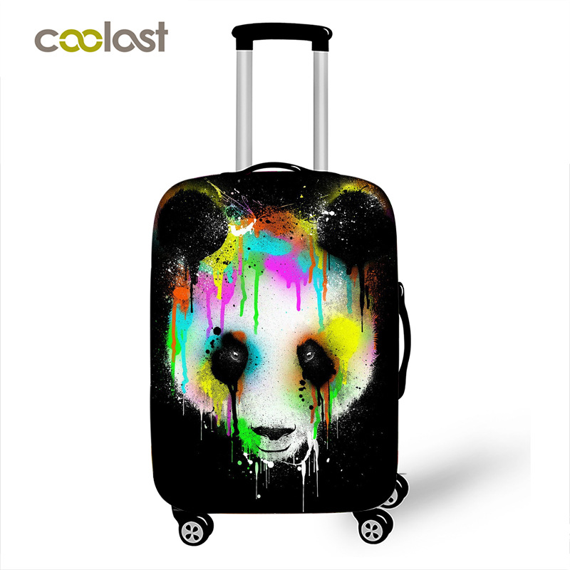 LAVOVO Unicorns Luggage Cover Suitcase Protector Carry On Covers