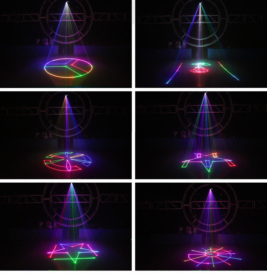 animação palco iluminação laser projetor disco dj